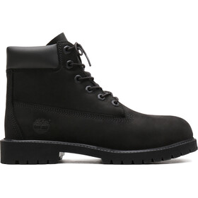 "Timberland Icon Collection Premium Boots 6"" Kinder black nubuck"